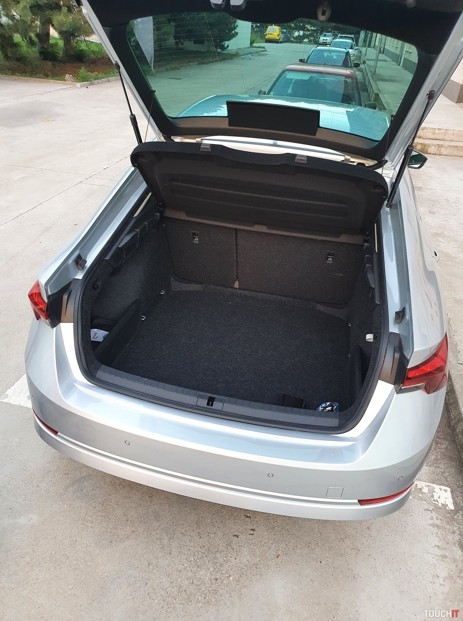 600-litrový kufor v Škoda Octavia Ambition