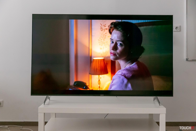 SonyKD-65XH9005 je farebne presne kalibrovaný na Netflix