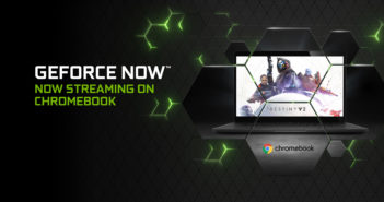 GeForce NOW pre Chromebooky