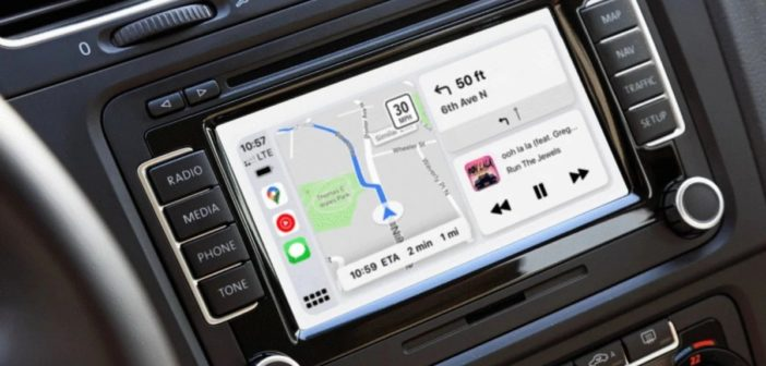Google Mapy pre Apple CarPlay