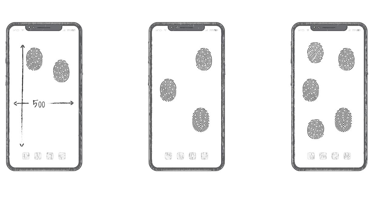 Huawei snímač odtlačkov prstov v displeji