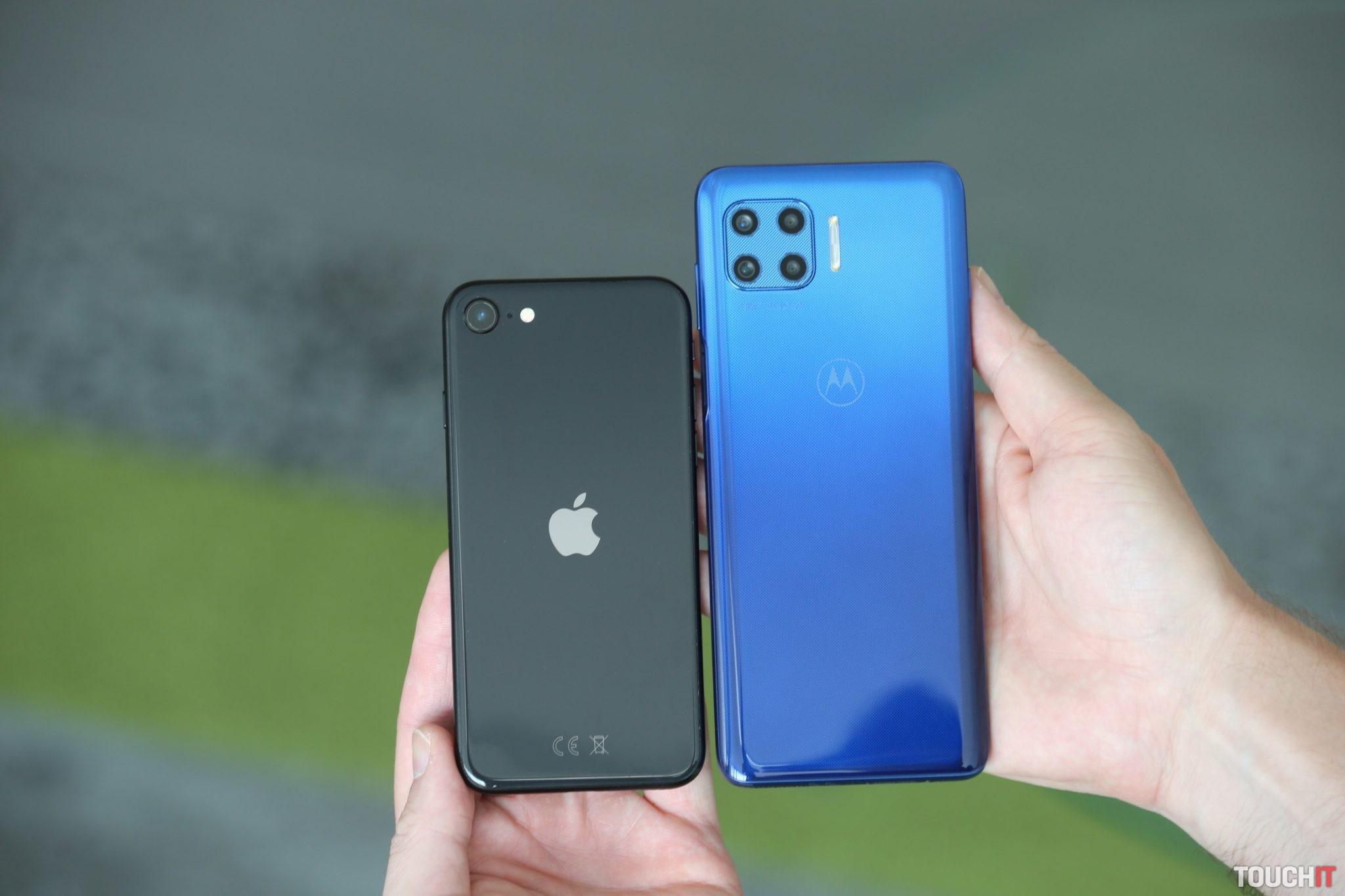 iphone se / moto g 5G plus