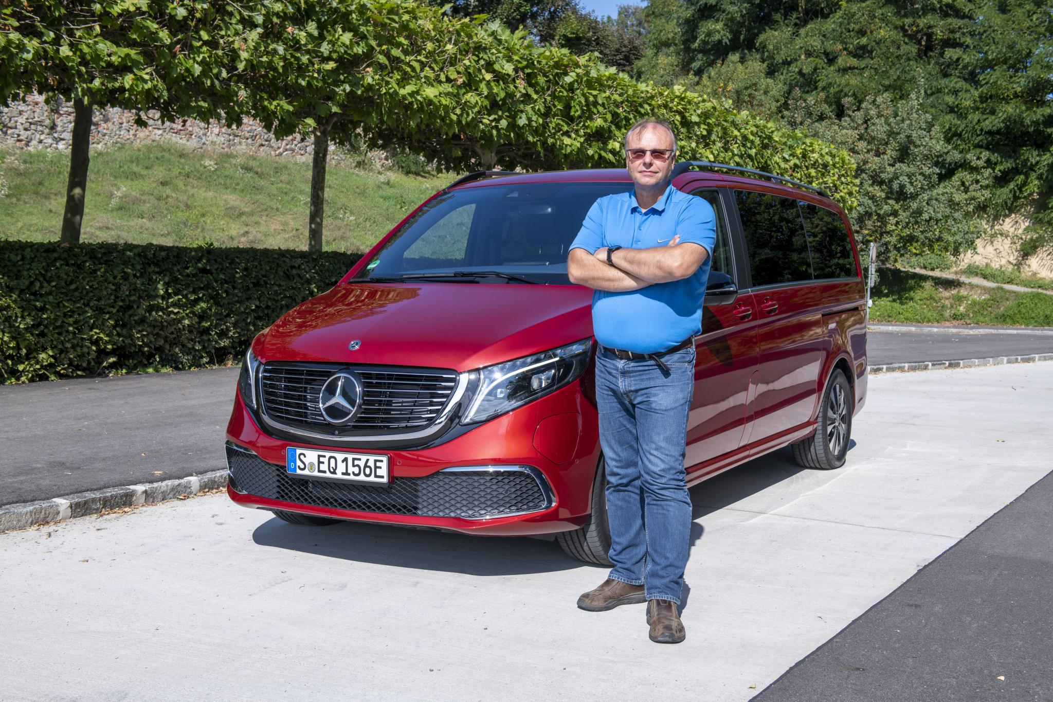 Test Mercedes-Benz EQV 300 na rakúskych cestách