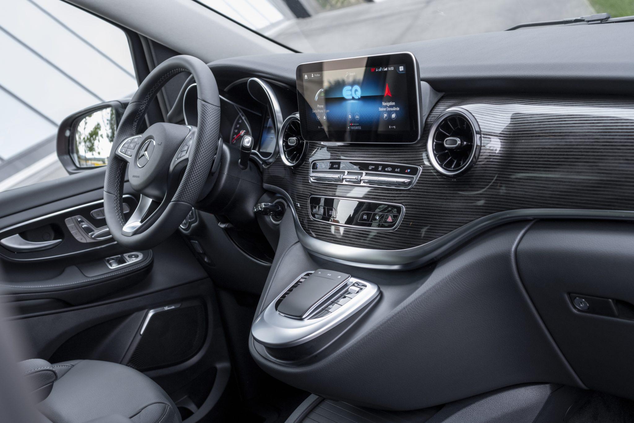 Interiér Mercedes-Benz EQV 300
