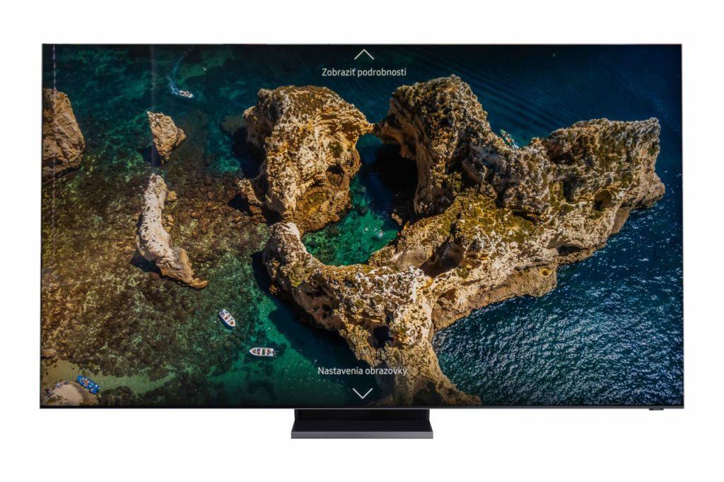 Samsung Q950TS s 8K rozlíšením obrazu