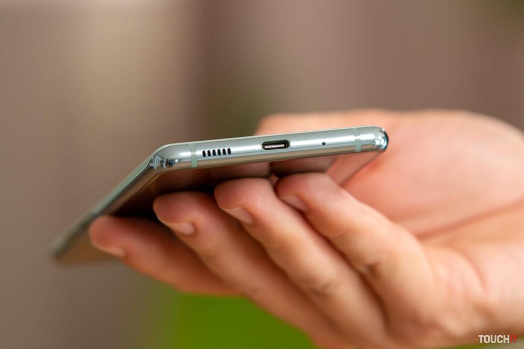 Spodná strana Samsung Galaxy S20 FE