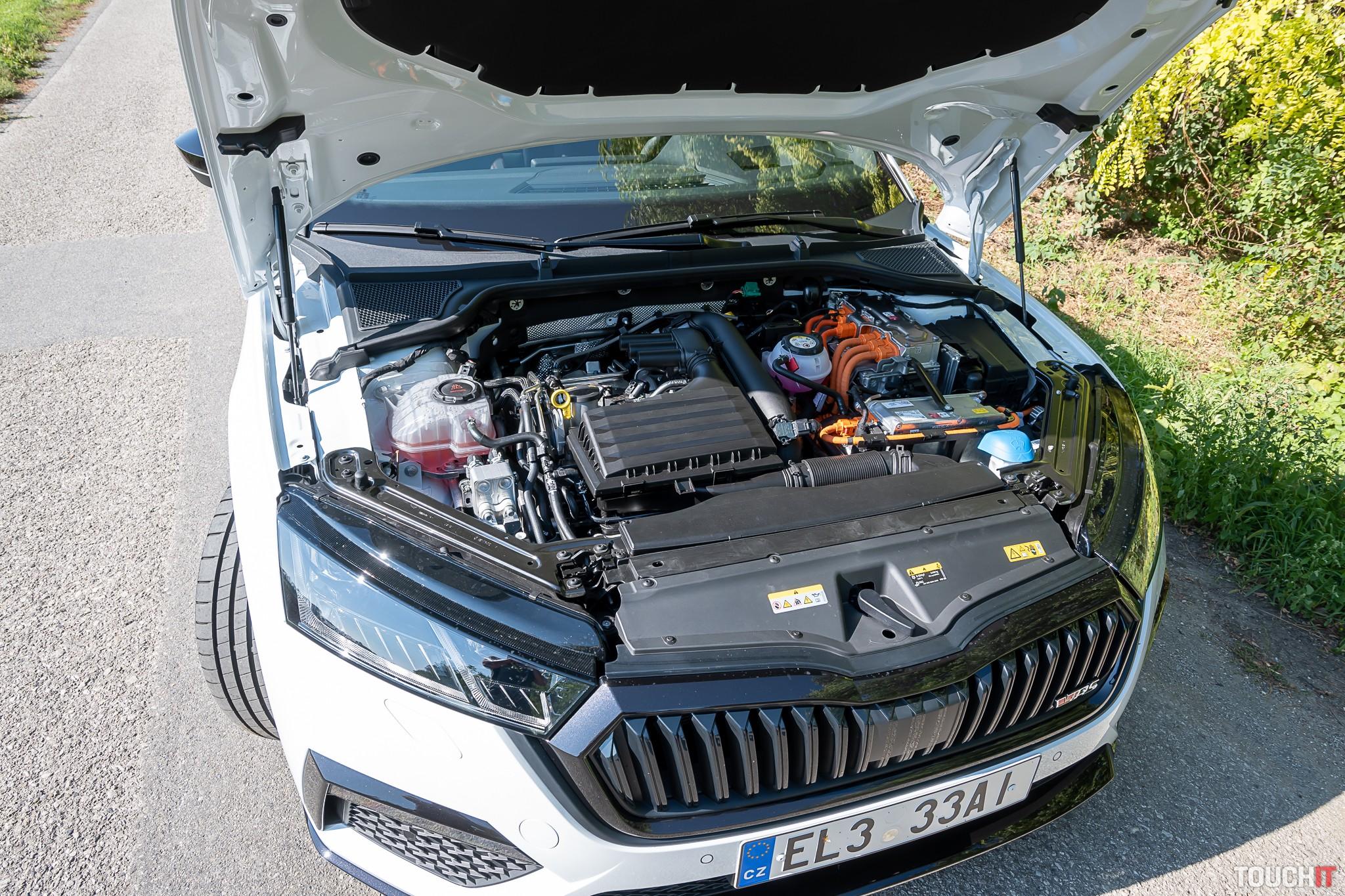 Škoda OCTAVIA RS IV motorová časť