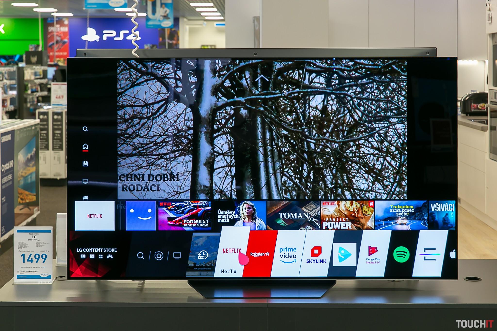 SmartTV na LG televíuore