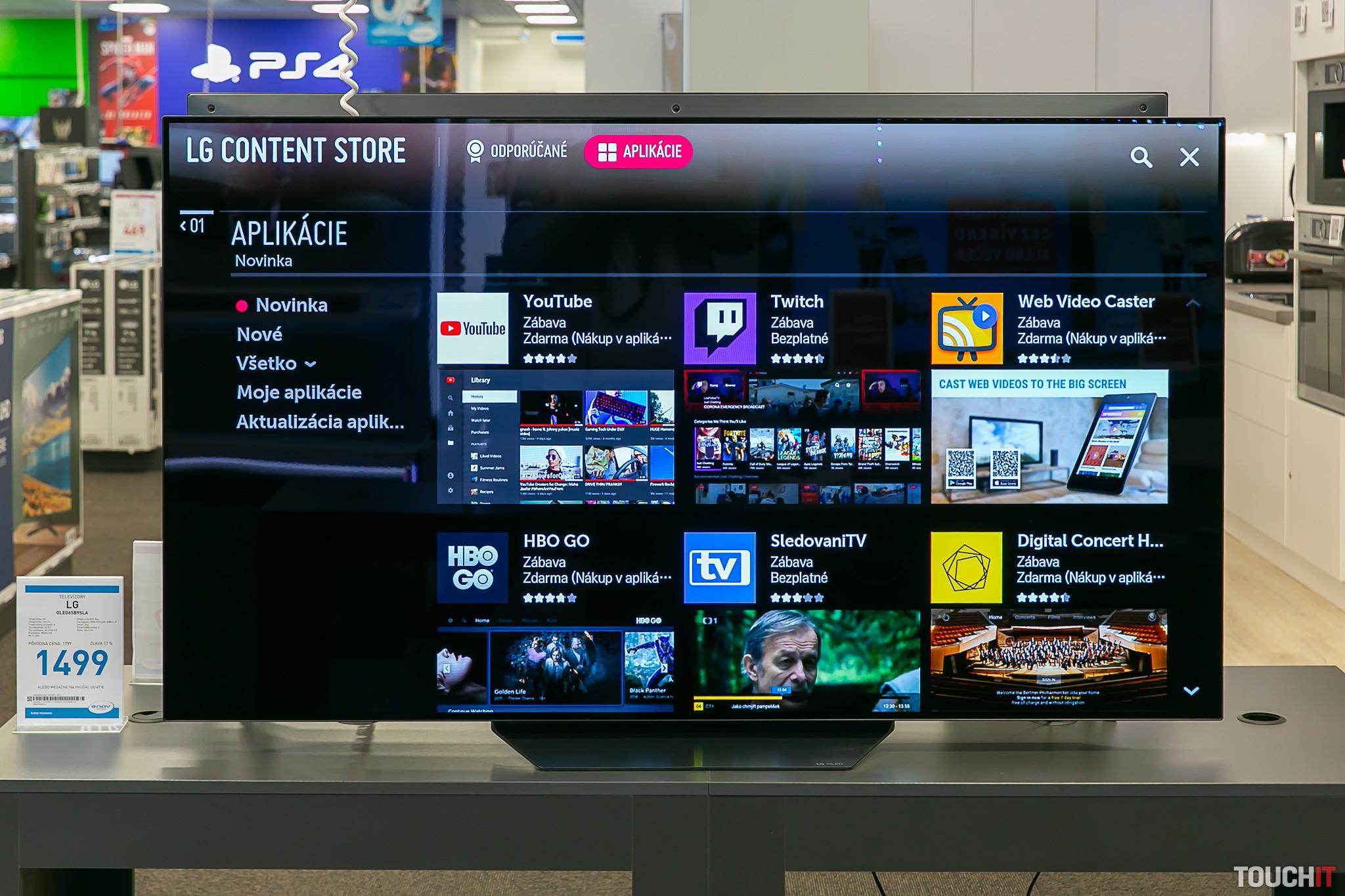 Inštalácia aplikácií na LG SmartTV