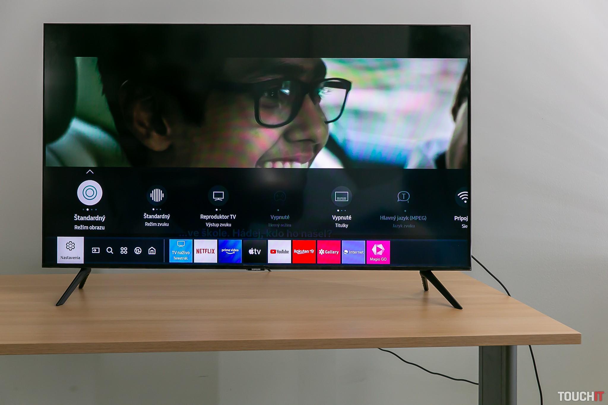 Nastavenie vysielania SmartTV Samsung