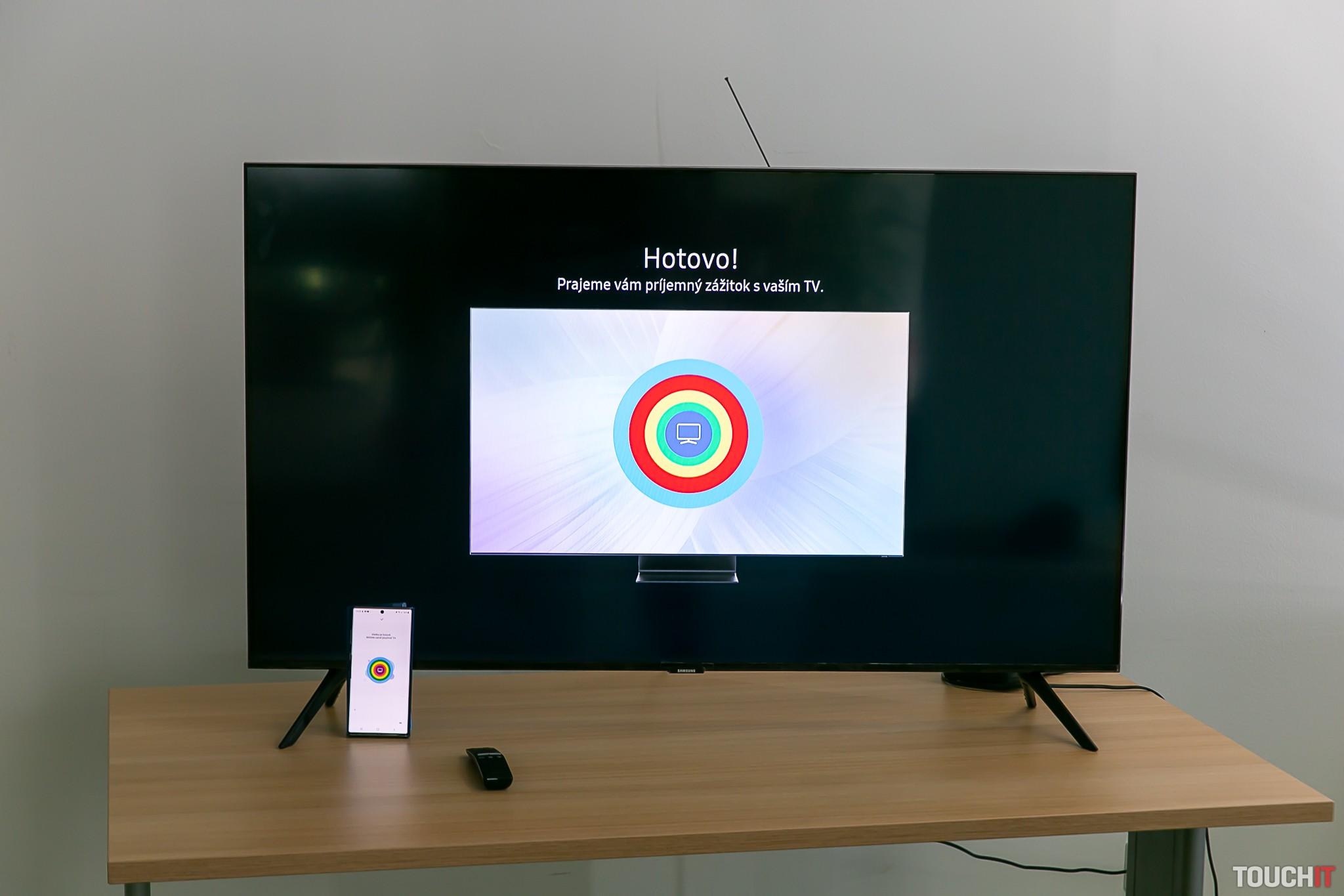 Inštalácia televízora značky Samsung