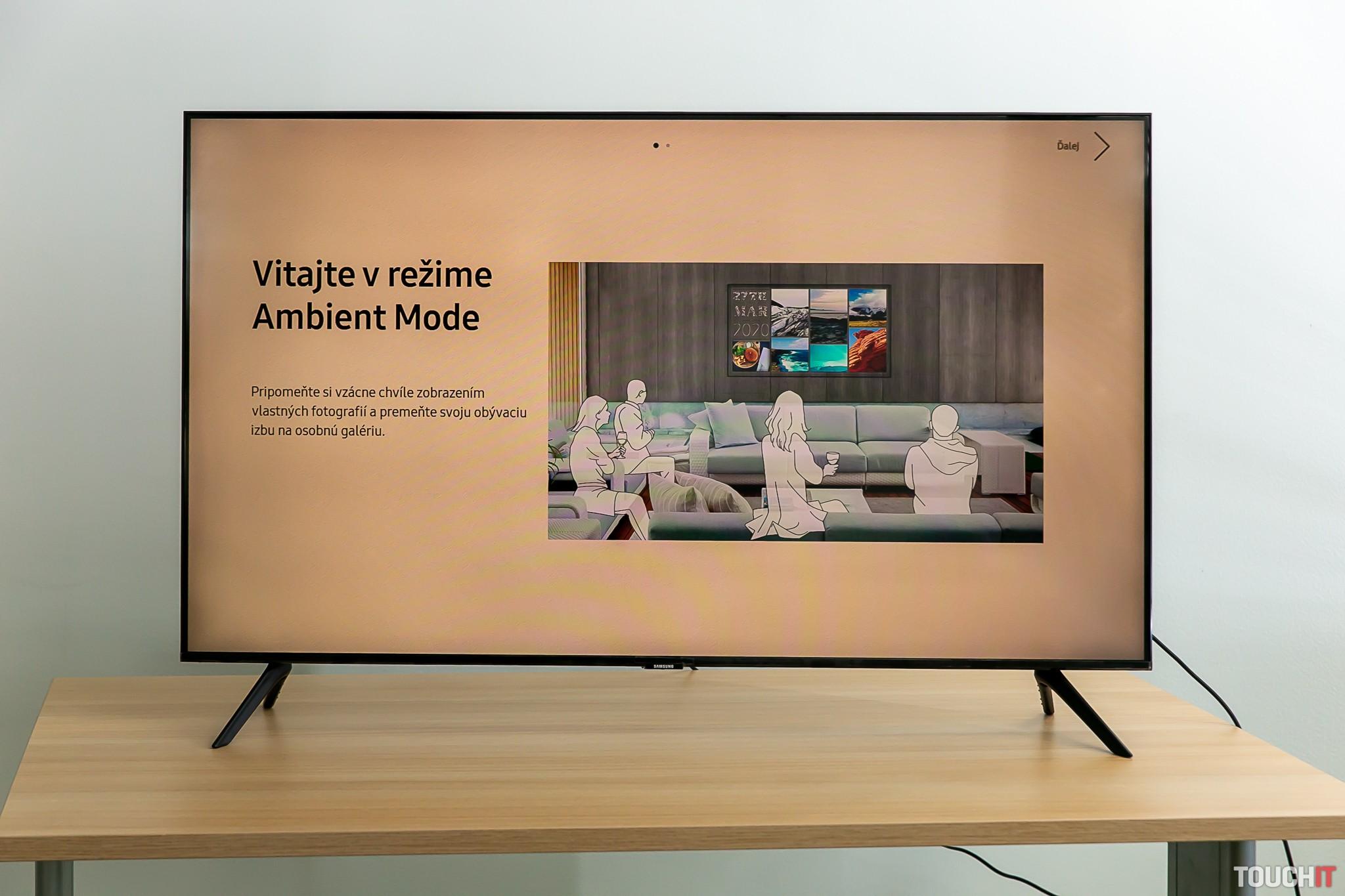 Režim Ambient na Samsung SmartTV
