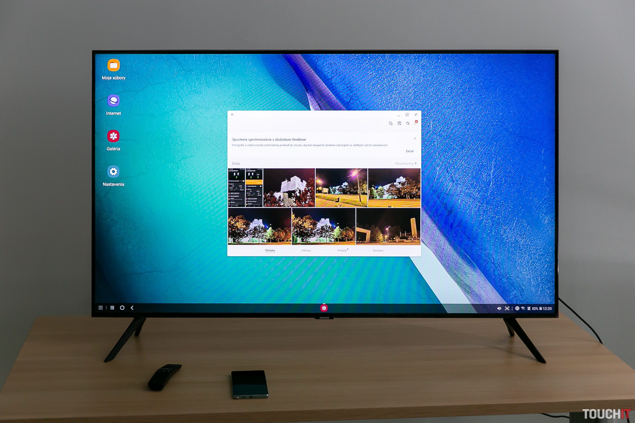 Bezdrôtový DeX na Samsung SmartTV