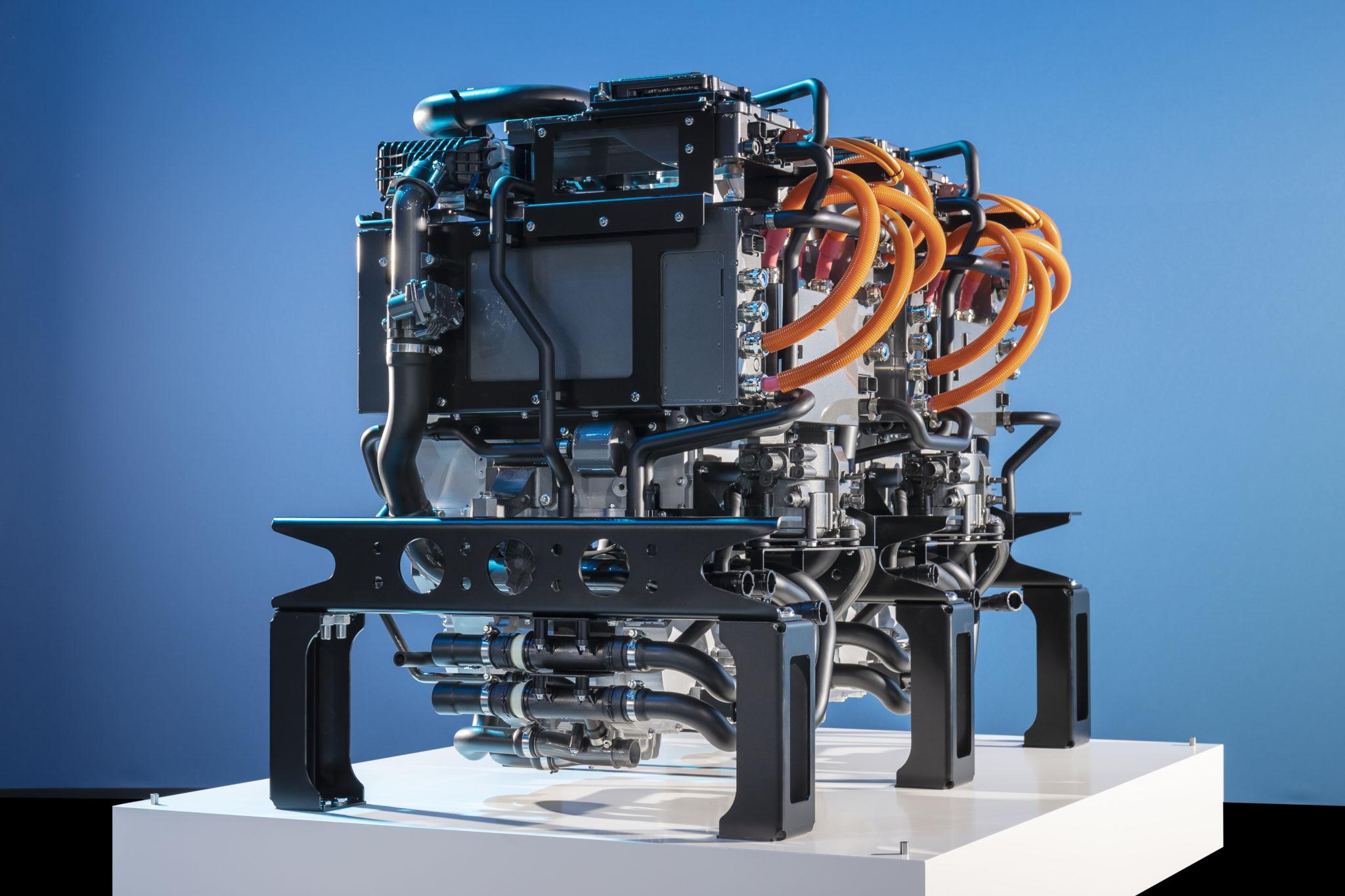 Motor na vodíkové palivové články