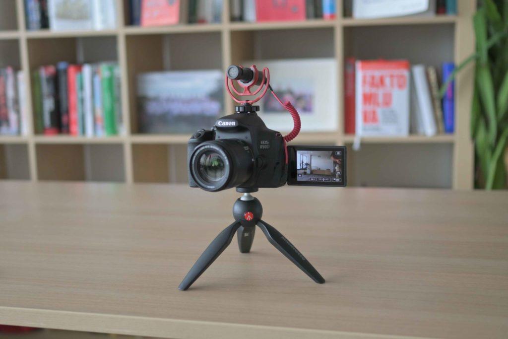 Canon 850D je najnovšou zrkadlovkou, sktorou sa vám podarí kvalitný vlog