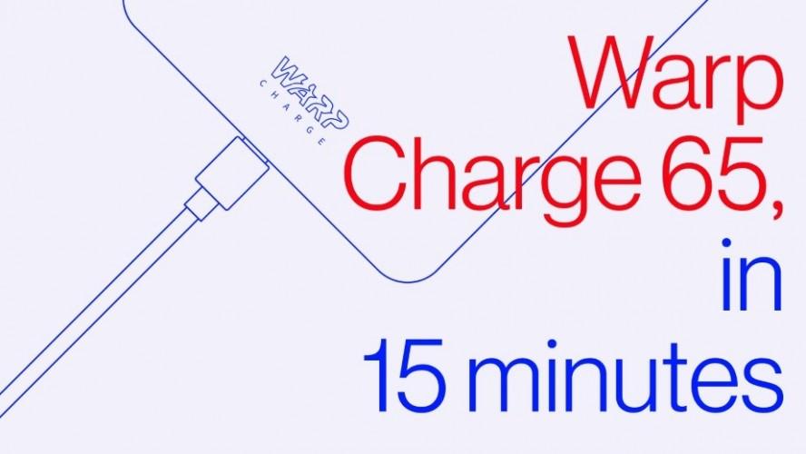 OnePlus warp charge 65W