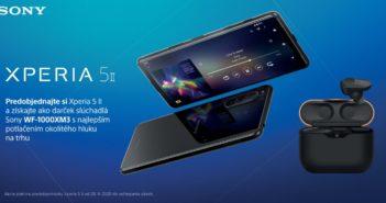 K predobjednávke Sony Xperia 5 II dostanete slúchadlá ako darček
