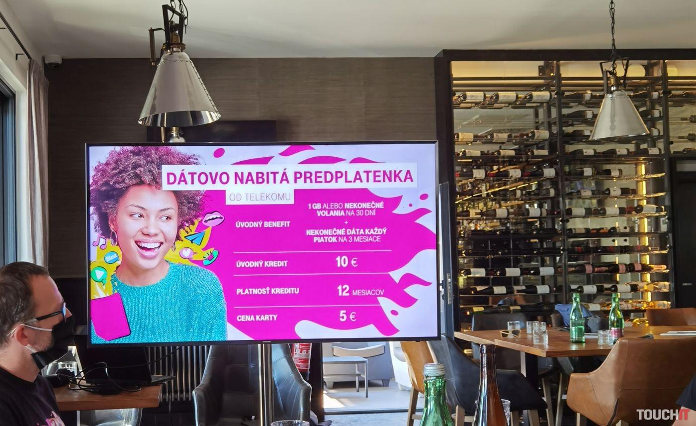 Telekom Predplatenka benefity a parametre