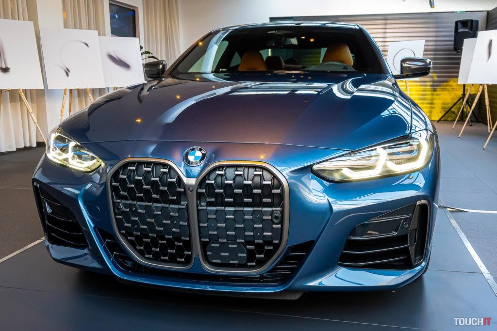 Veľké obličky na BMW M440i Coupé