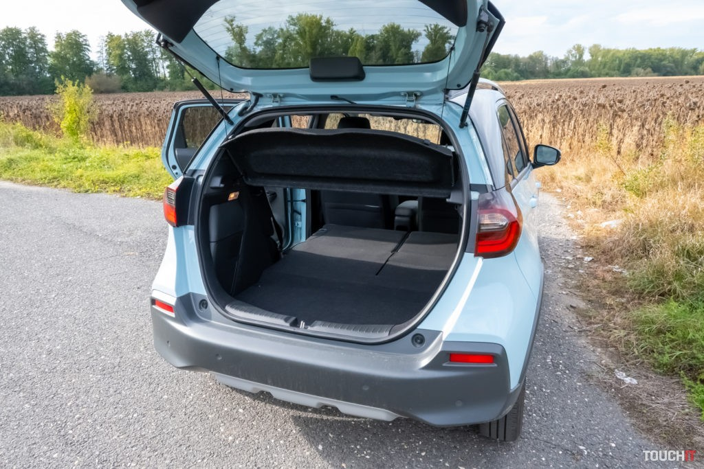 Batožinový priestor na Honda Jazz Corsstar