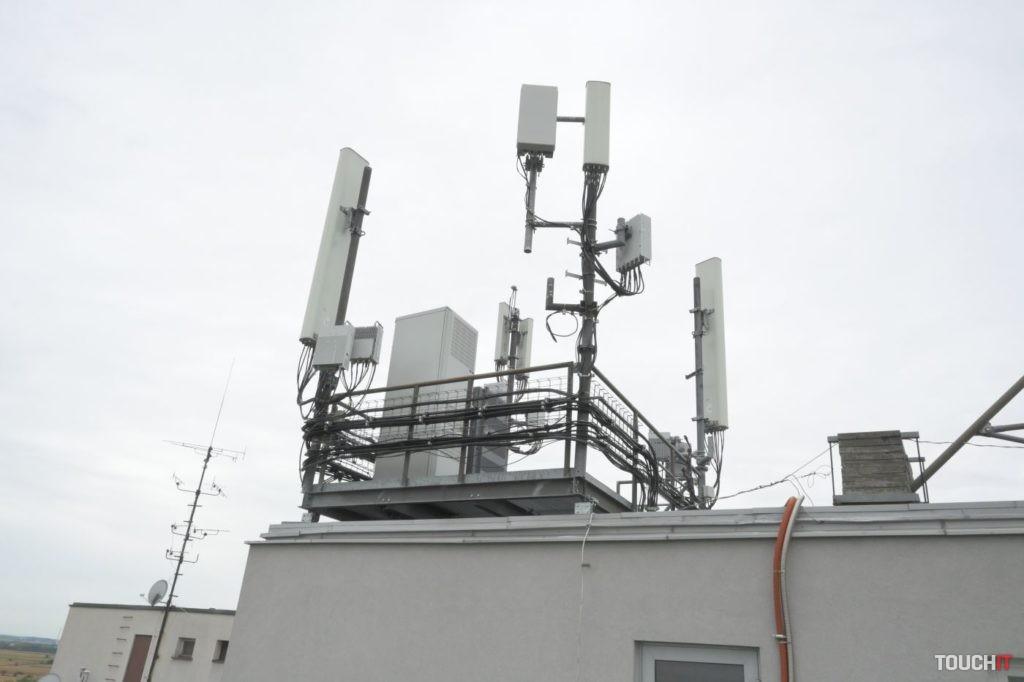 Základňová stanica 5G siete od O2 v Bratislave