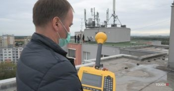 Meranie elektromagnetického žiarenia 5G siete O2 v Bratislave