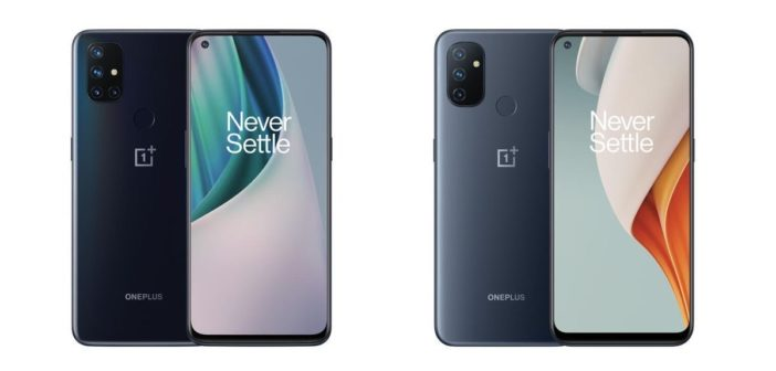 OnePlus Nord N10 a Nord N100