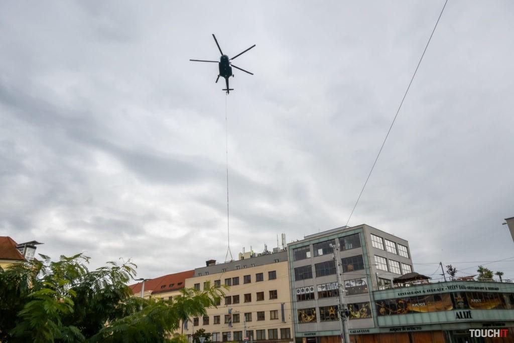 Po starú technológiu si prišiel vrtuľník