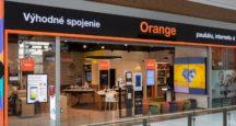 Orange predajňa Aupark