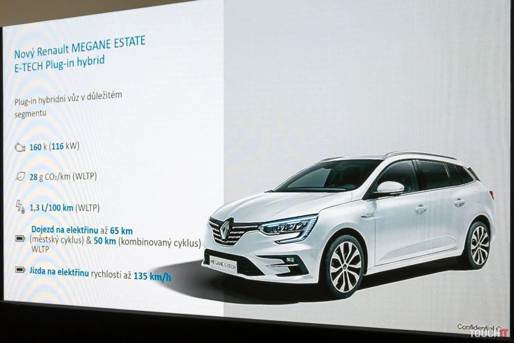 Hlavné parametre Renault Megane Estate E-TECH Hybrid