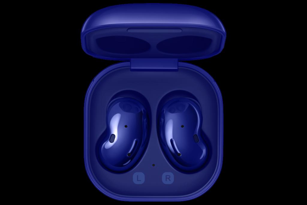 Limitovaná edícia Samsung Galaxy Buds Live vo farbe Mystic Blue