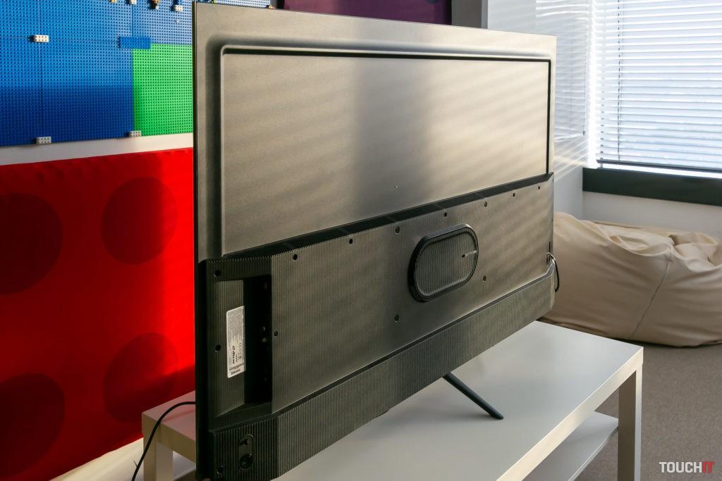 Dizajn tohto televízora je veľmi tenký