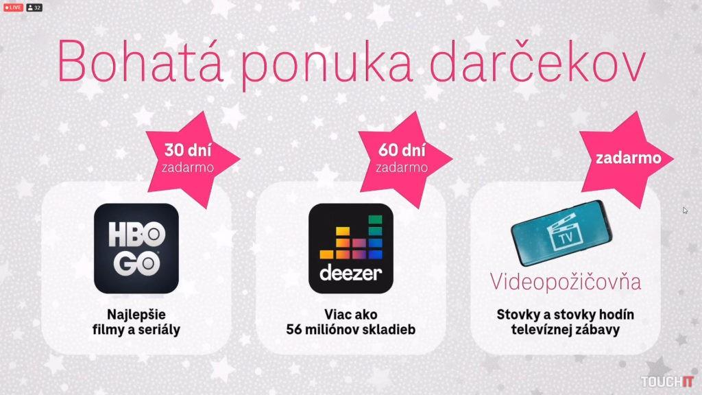 Ak ste v Telekome, toto sú darčeky pre vás. Stačí si ich len aktivovať