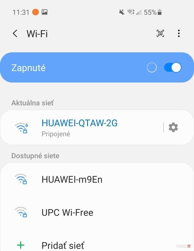 samsgung wifi settings