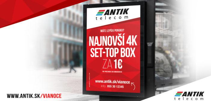 Vianočná ponuka Antik Telecom