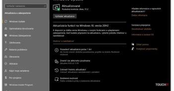 Windows 10 October Update 2020 prostredníctvom funkcie Windows Update