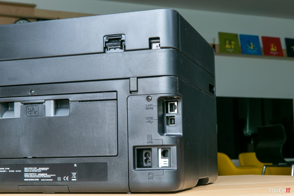 Káblové prepojenia na Epson WorkForce 3820DWF