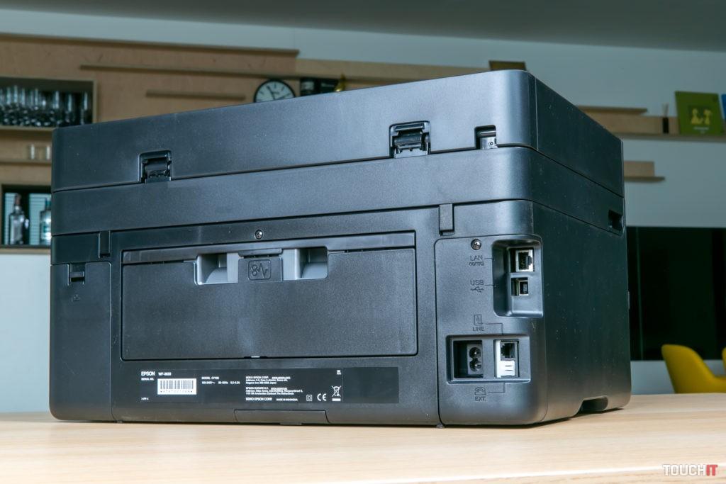 Zadná časť Epson WorkForce 3820DWF
