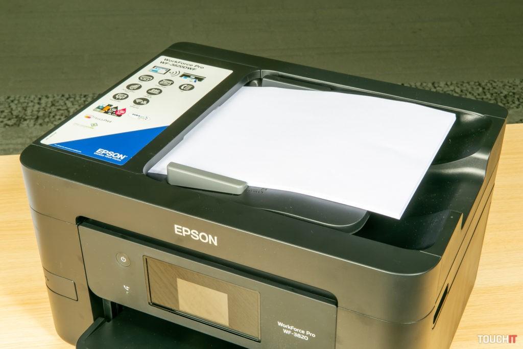 Automatický podávač na Epson WorkForce 3820DWF
