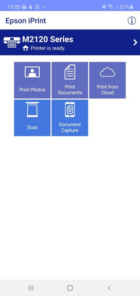 Mobilná aplikácia Epson iPrint