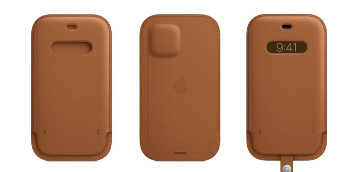 Apple Leather Sleeve with MagSafe