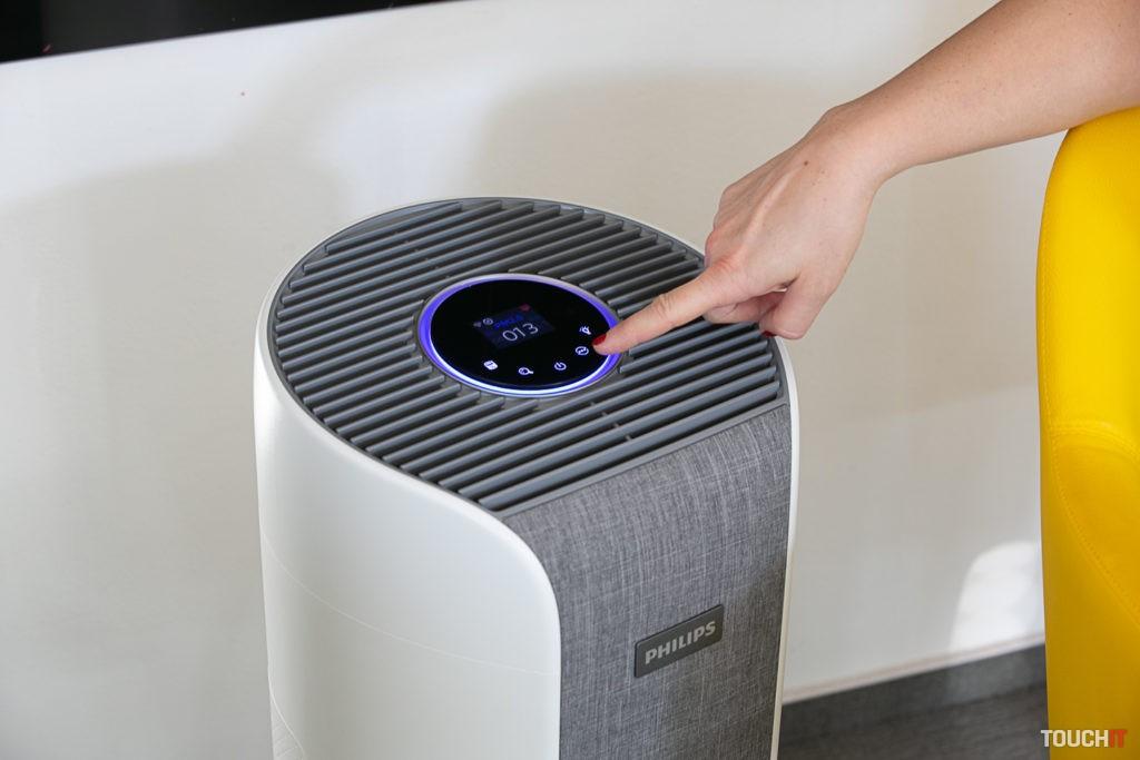 Philips Dual Scan pri dotykovom ovládaní