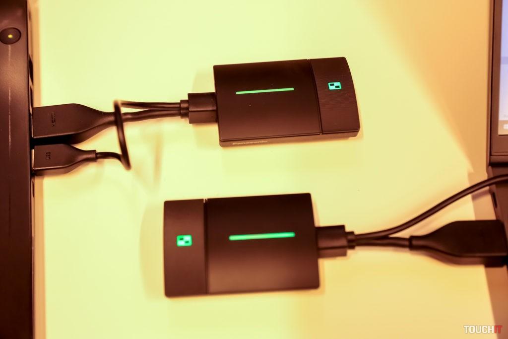 Pripojenie dvoch zariadení PressIT súčasne