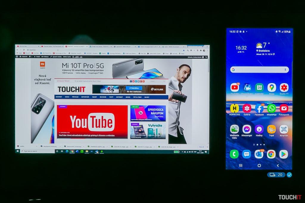 Režim Multiview na Samsung QE55Q67TA