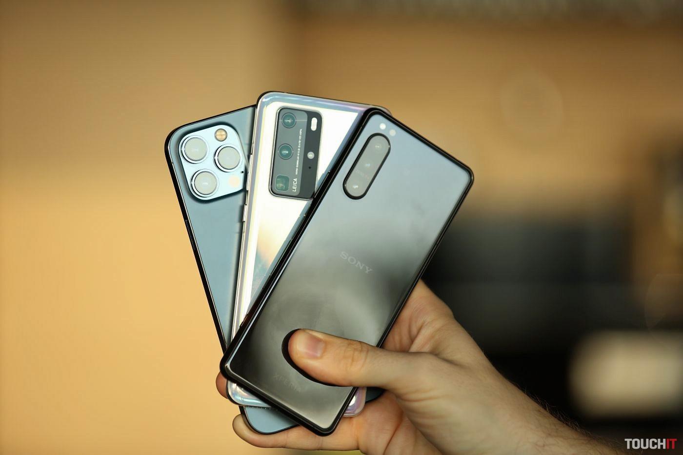 Fototest: Porovnali sme iPhone 12 Pro, Huawei P40 Pro a Sony Xperia 5 II