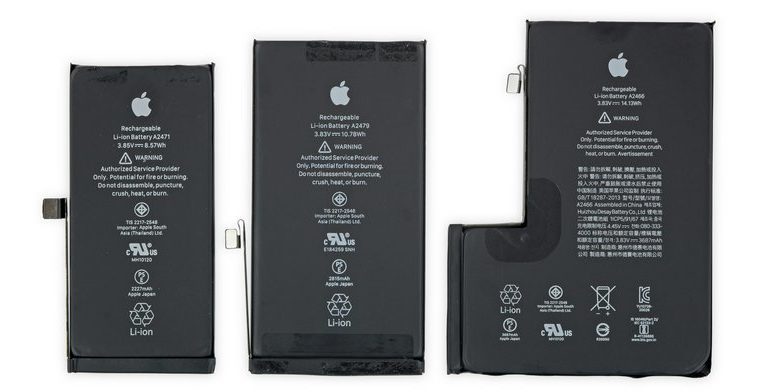 iphone 12 battery
