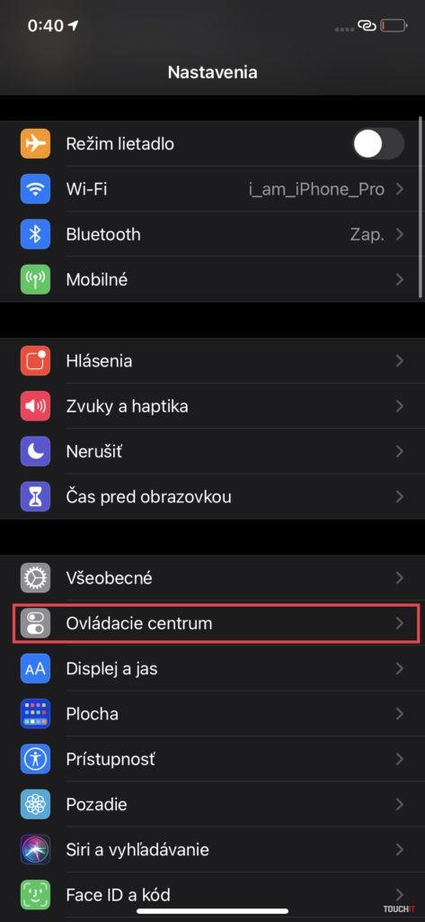 Rozpoznávanie hudby iOS