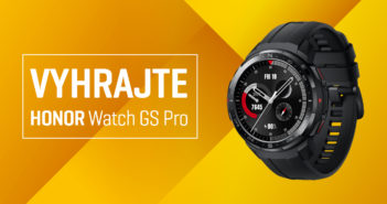 Súťaž o HONOR Watch GS Pro