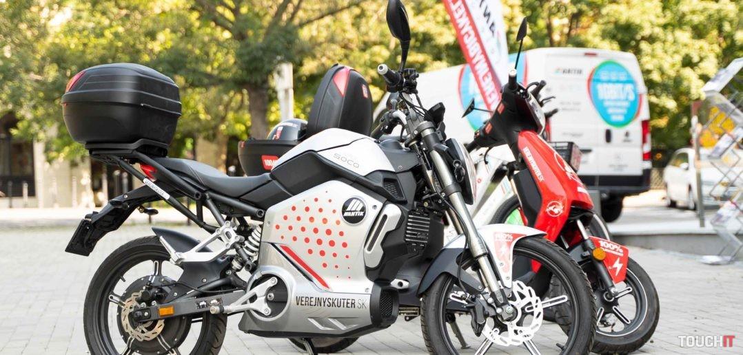 Elektrická motorka SuperSOCO pribudne najprv v Košiciach