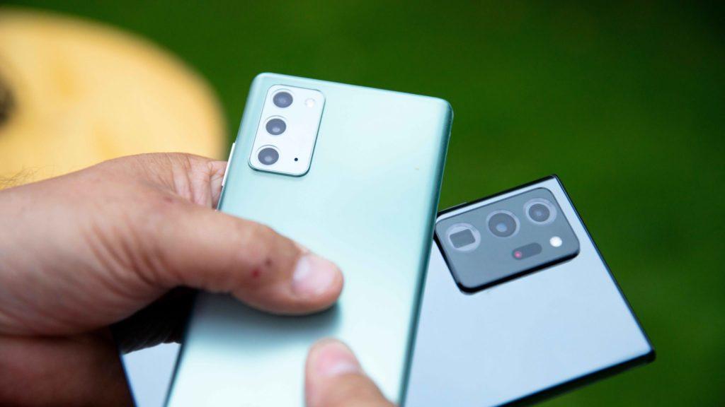 Takto sa vprípade fotoaparátov odlišuje Note20 od Note20 Ultra